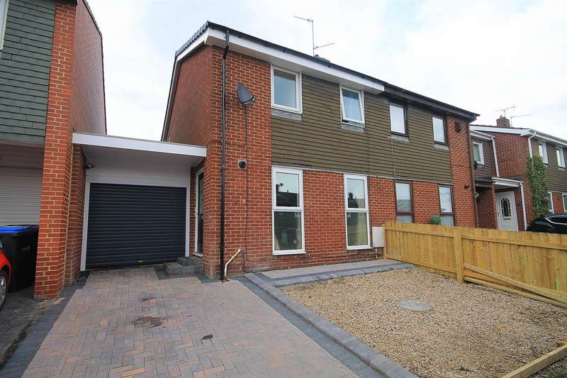 3 Bedrooms Semi Detached House for sale in Norburn Park, Witton Gilbert, Durham