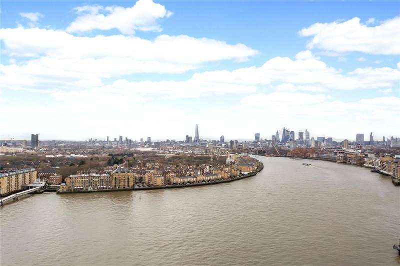 3 Bedrooms Flat for sale in Berkeley Tower, 48 Westferry Circus, Canary Wharf, London, E14
