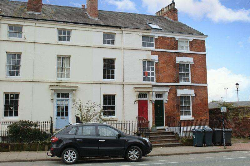 4 Bedrooms Town House for sale in Abbey Foregate, Shrewsbury, SY2 6AH