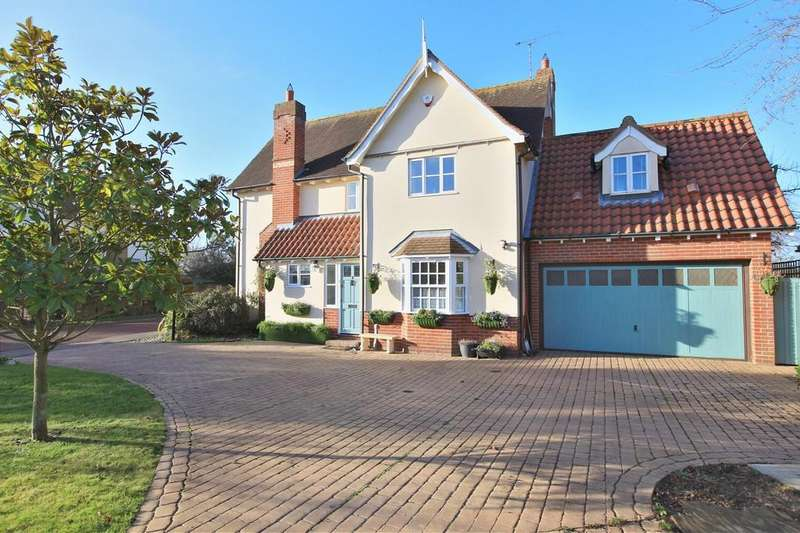 4 Bedrooms Detached House for sale in Brook Meadows, Tiptree, CO5 0QF