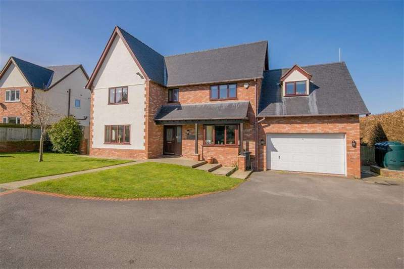 4 Bedrooms Detached House for sale in Druids Close, Gorsedd, Holywell