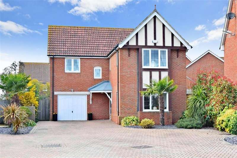 4 Bedrooms Detached House for sale in Longtail Rise, Herne Bay, Kent