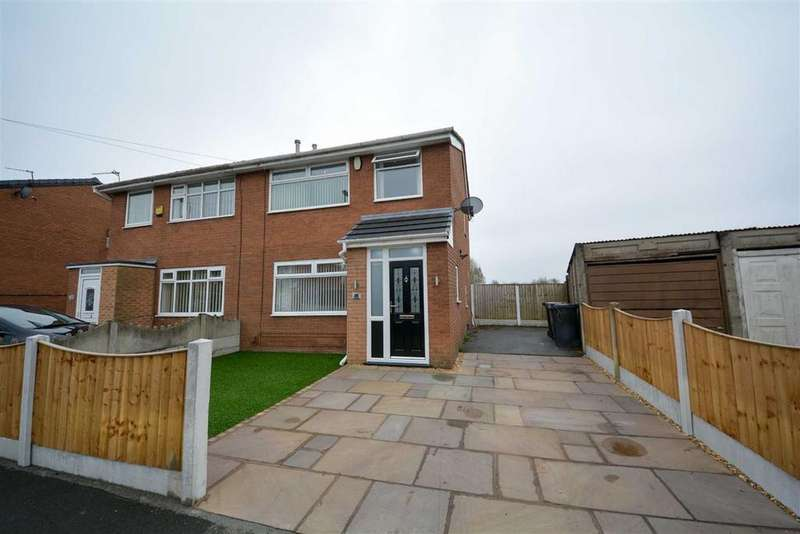 3 Bedrooms Semi Detached House for sale in Brecon Drive, Hindley Green, Wigan, WN2