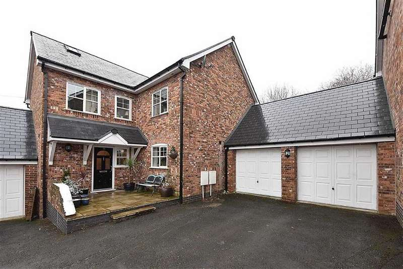 4 Bedrooms Link Detached House for sale in Hawthorn Road, Bollington, Macclesfield