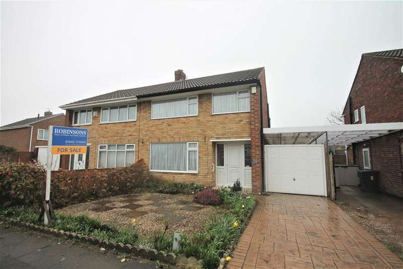 3 Bedrooms Semi Detached House for sale in Laurel Road, Marton-In-Cleveland, Middlesbrough