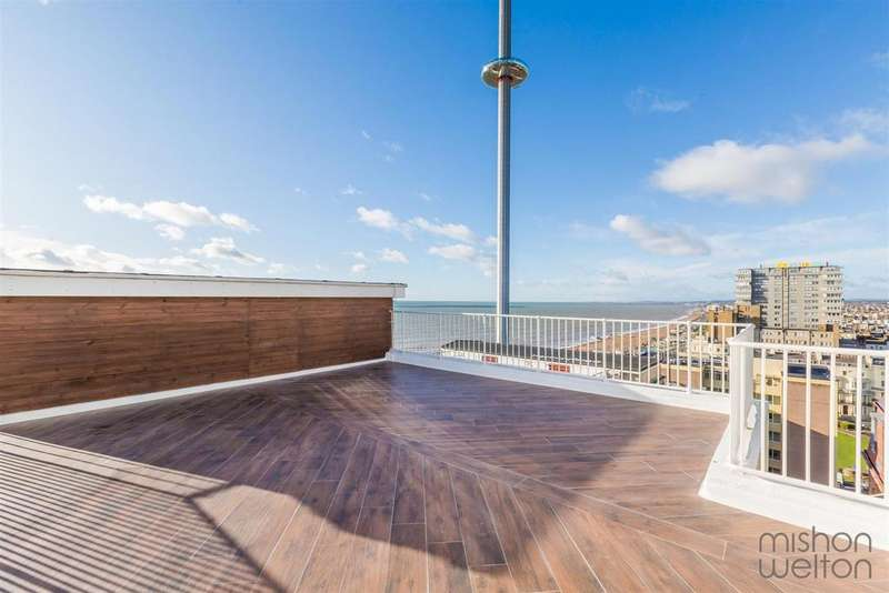 3 Bedrooms Penthouse Flat for sale in Kings Road, Brighton
