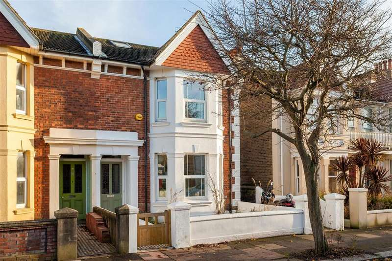 3 Bedrooms Semi Detached House for sale in St. Leonards Road, Hove