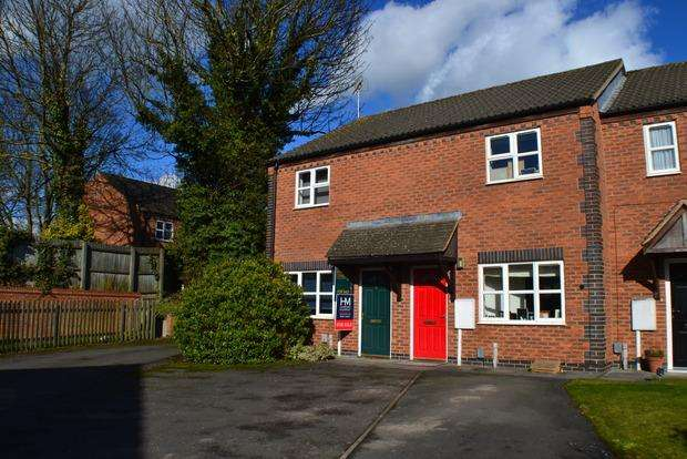 2 Bedrooms Semi Detached House for sale in Mill Hill Road, Market Harborough, Leicester, LE16