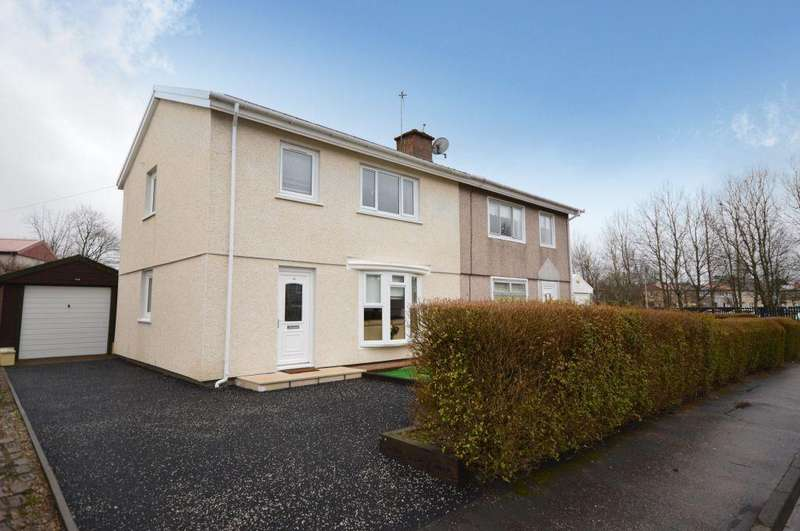 3 Bedrooms Semi Detached House for sale in 18 Ryemount Road, Barmulloch, Glasgow, G21 3EE