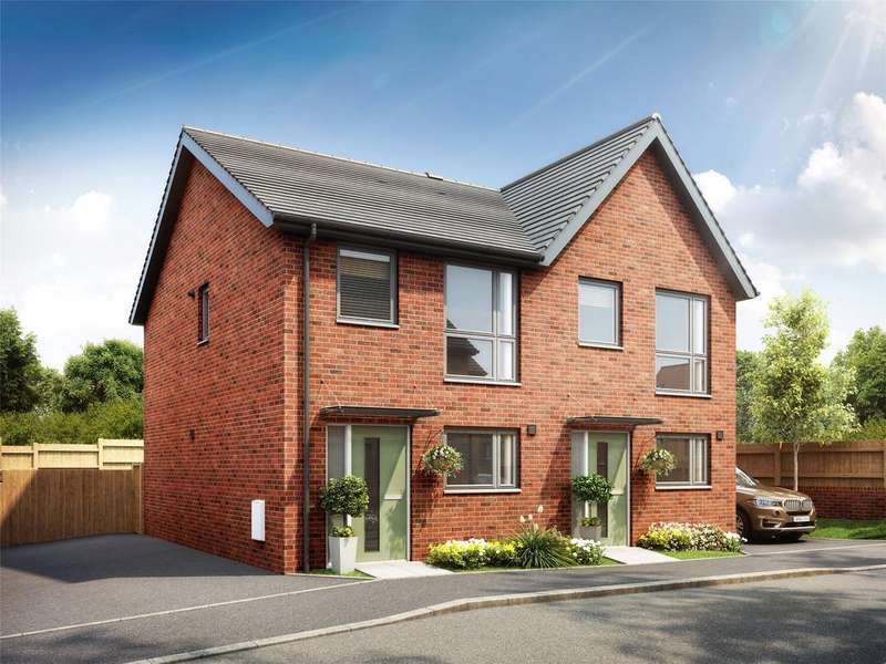 2 Bedrooms Semi Detached House for sale in Oakwell Mews, Lyddicleave