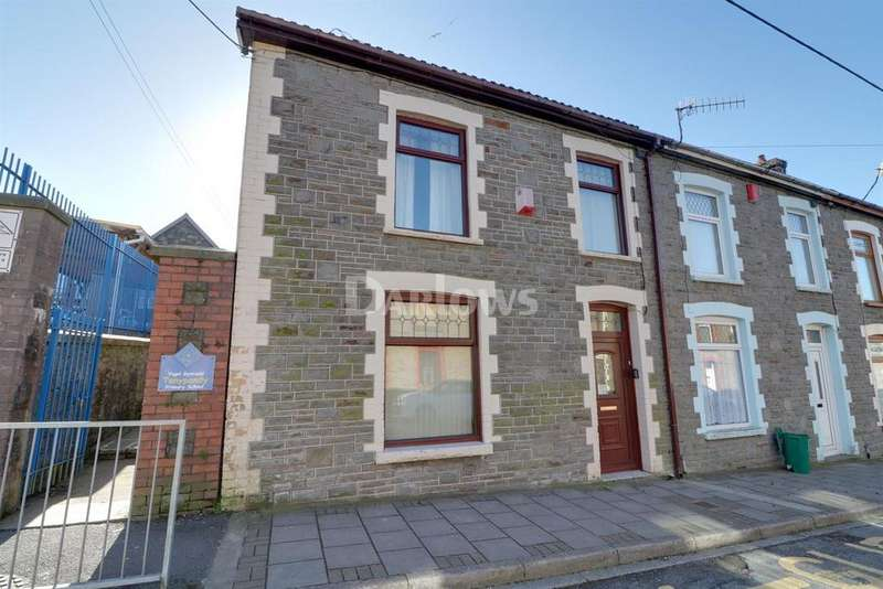 4 Bedrooms End Of Terrace House for sale in Primrose St, Tonypandy