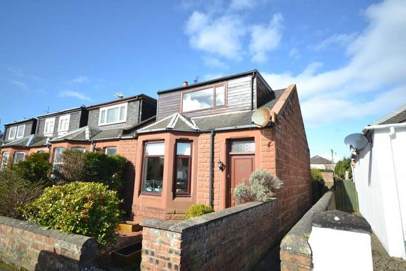 3 Bedrooms End Of Terrace House for sale in 13 Springbank Road, Ayr, KA8 9BP