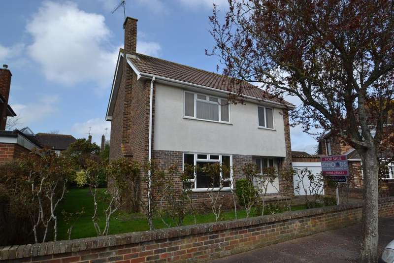 3 Bedrooms Detached House for sale in Falmer Close, Goring By Sea, Worthing, BN12 4TB