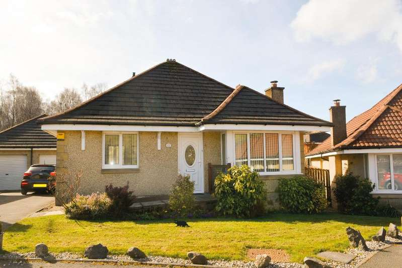 3 Bedrooms Detached Bungalow for sale in Keirfold Avenue, Tullibody, Stirling, FK10 3BE