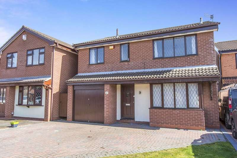 4 Bedrooms Detached House for sale in Waterside View, Rudheath, Northwich, CW9