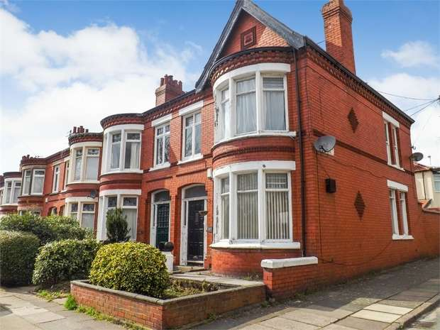 4 Bedrooms End Of Terrace House for sale in Heathfield Road, Wavertree, Liverpool, Merseyside