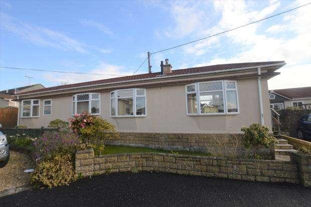 2 Bedrooms Detached Bungalow for sale in Glenhaven Caravan Park, Clodgey Lane, Helston, Cornwall