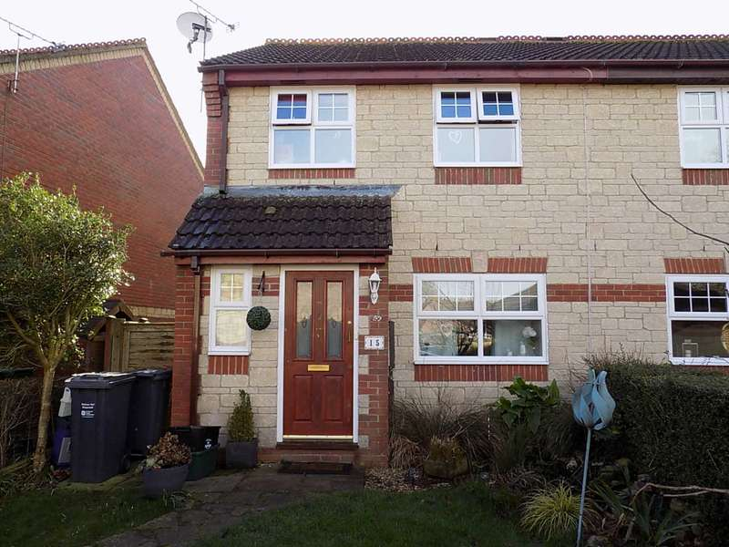 3 Bedrooms Semi Detached House for sale in Caraway Close, Chard