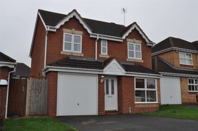 4 Bedrooms Detached House for sale in Jackdaw Lane, Droitwich