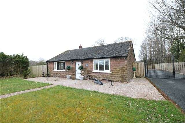 2 Bedrooms Detached Bungalow for sale in Scaleby Hill, Carlisle, Cumbria, CA6 4LY