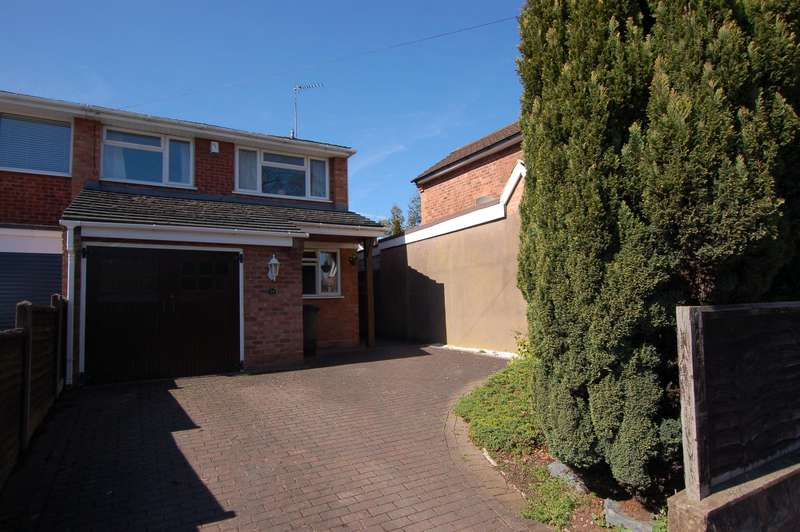 4 Bedrooms Semi Detached House for sale in High Park Avenue, Wollaston, DY8 3NH