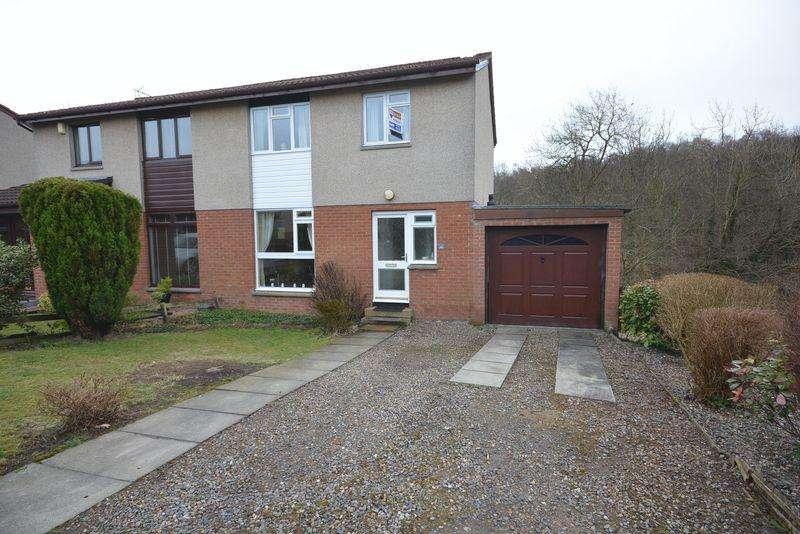 3 Bedrooms Semi Detached House for sale in Bickram Crescent, Dunfermline