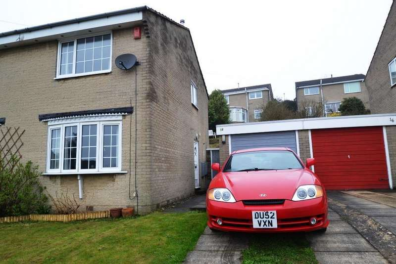 2 Bedrooms Semi Detached House for sale in Thorndale Rise, Bradford,