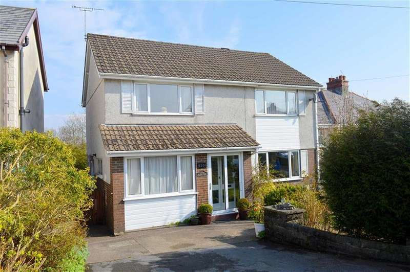 4 Bedrooms Detached House for sale in Gower Road, Upper Killay, Swansea