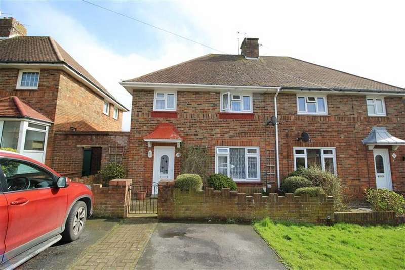 3 Bedrooms Semi Detached House for sale in Poynings Drive, Hove, East Sussex
