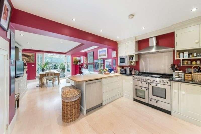 4 Bedrooms Terraced House for sale in Faroe Road, Brook Green, London, W14