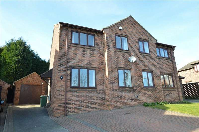 3 Bedrooms Semi Detached House for sale in Woodlands Croft, Kippax, Leeds, West Yorkshire