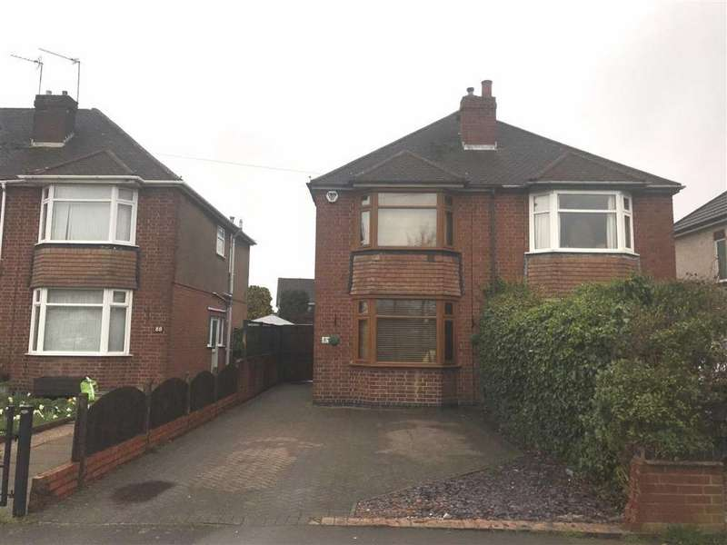 3 Bedrooms Semi Detached House for rent in Newdigate Road, Bedworth