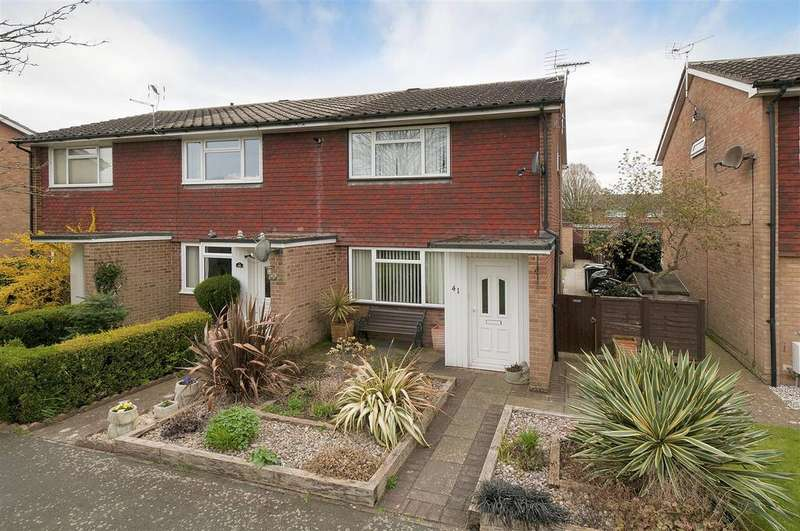 2 Bedrooms End Of Terrace House for sale in Golding Gardens, East Peckham