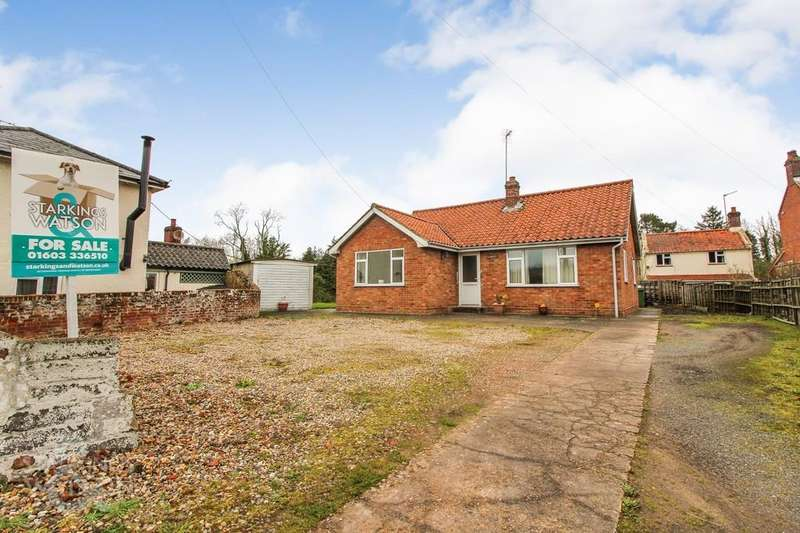 3 Bedrooms Detached Bungalow for sale in Norwich Road, Booton, Norwich