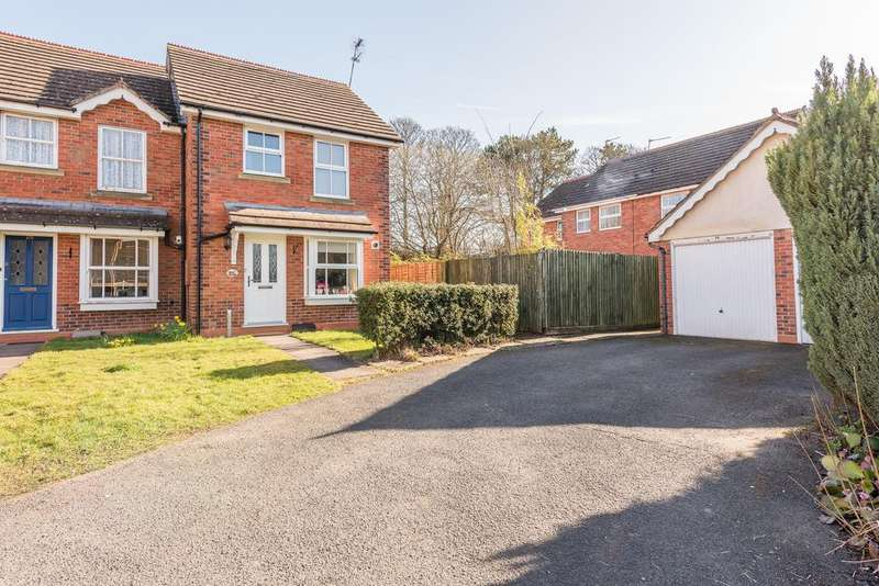 2 Bedrooms Semi Detached House for sale in McConnell Close, Aston Fields , Bromsgrove B60