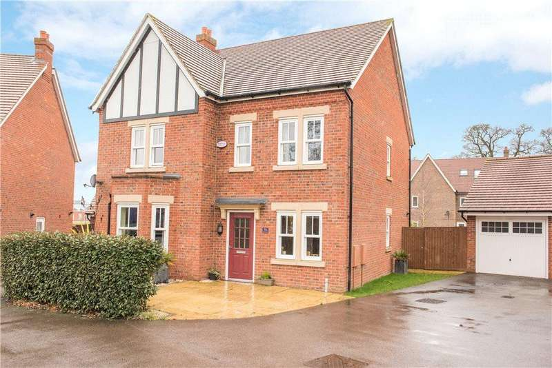 4 Bedrooms Detached House for sale in Chibnall Close, Kempston, Bedfordshire