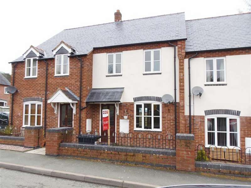 3 Bedrooms Terraced House for rent in 6, Manor House Close, Montgomery, Powys, SY15