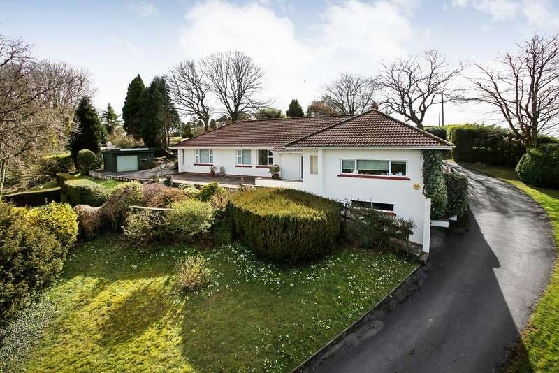 4 Bedrooms Detached Bungalow for sale in Two Mile Oak, Newton Abbot, TQ12 6DF