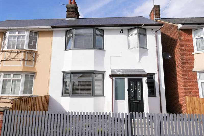 3 Bedrooms Semi Detached House for sale in Kelvin Road, Ipswich