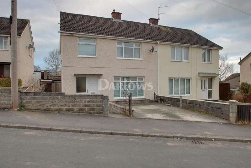 3 Bedrooms Semi Detached House for sale in CaernarvonWay, Rumney, Cardiff