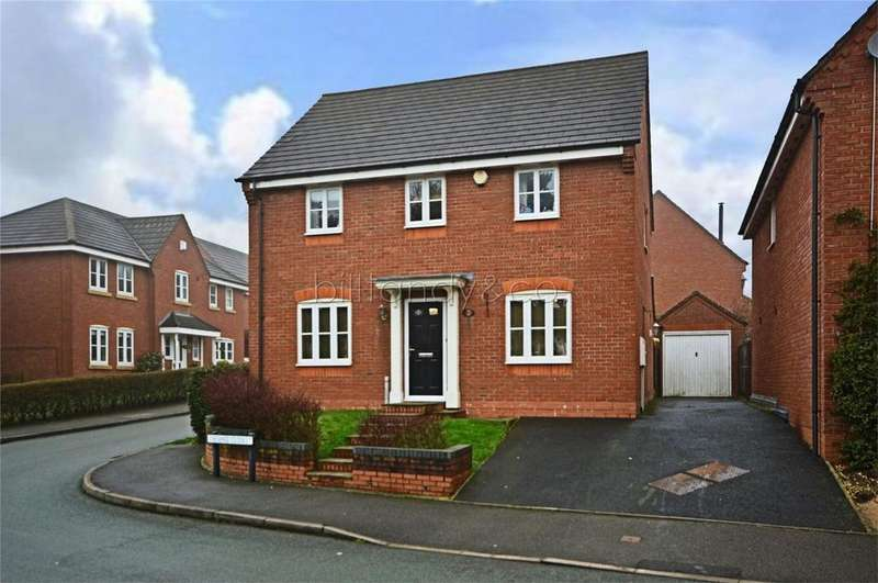 4 Bedrooms Detached House for sale in Cheshire Close, Burntwood, Staffordshire