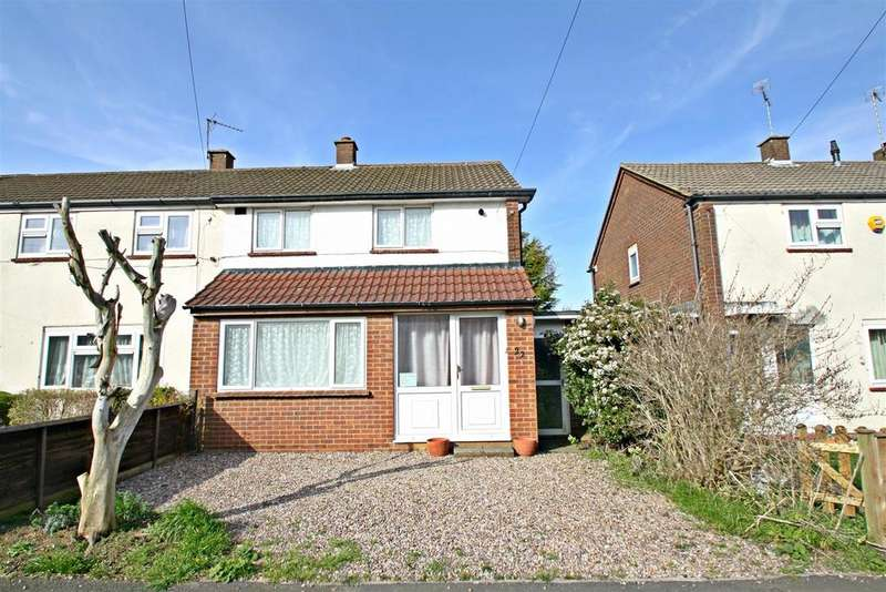 2 Bedrooms End Of Terrace House for sale in Derwent Drive, Bletchley, Milton Keynes
