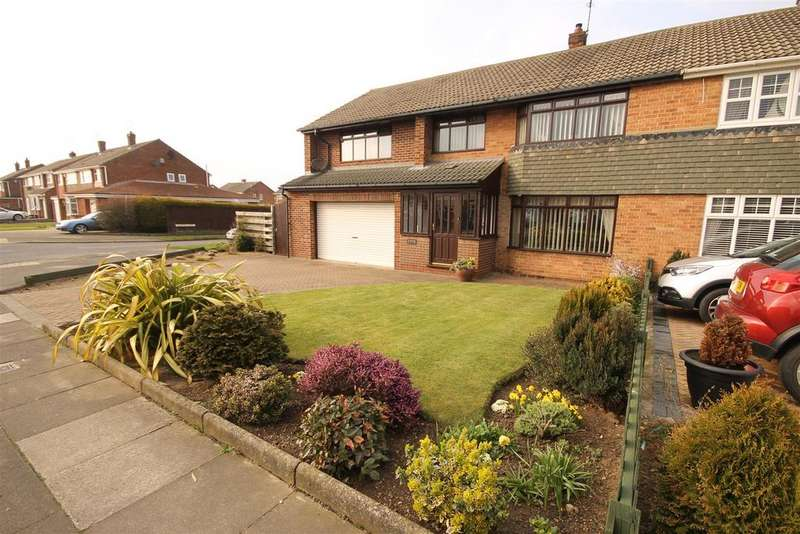 4 Bedrooms Semi Detached House for sale in Mowbray Road, Fens, Hartlepool