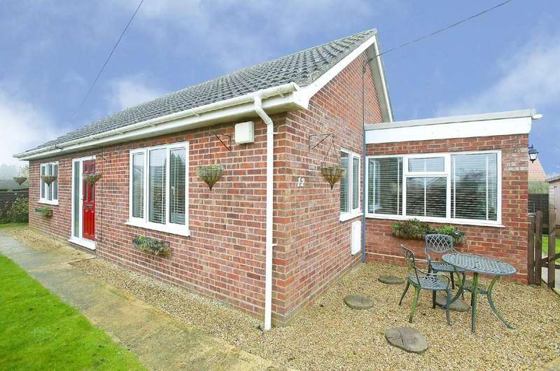 2 Bedrooms Detached Bungalow for sale in Chequers Lane, Great Ellingham
