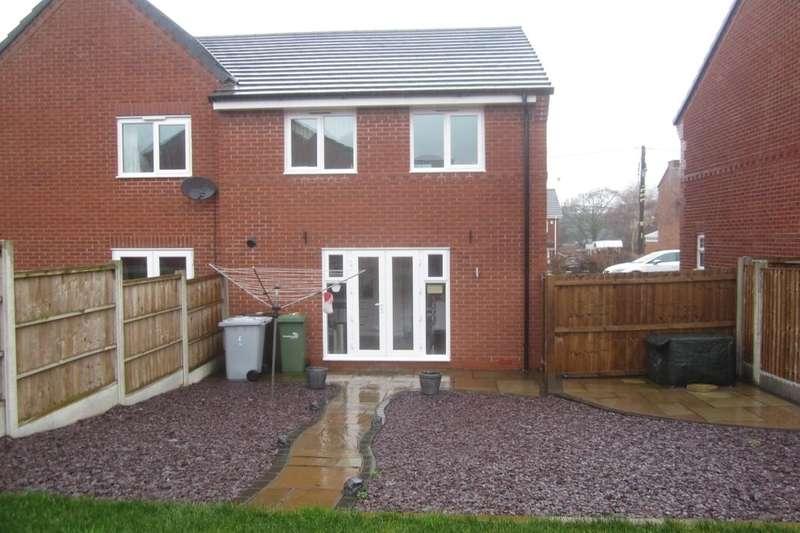 3 Bedrooms Semi Detached House for sale in Apple Drive, Shavington, Crewe, CW2