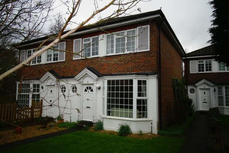 3 Bedrooms Semi Detached House for sale in Chestnut Manor Close, Staines-upon-Thames, TW18