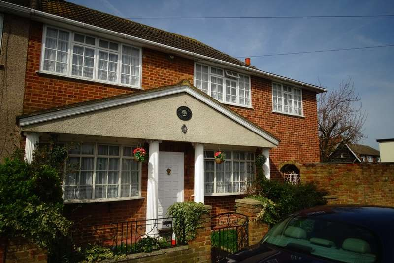 5 Bedrooms Semi Detached House for sale in Orchard Avenue, Ashford, TW15
