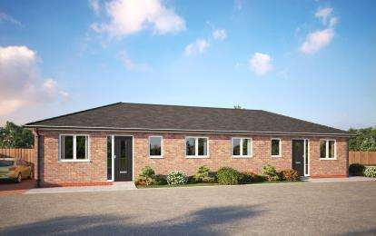 2 Bedrooms Bungalow for sale in Olivia Court, Semilong Road, Northampton, Northamptonshire