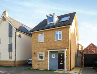 3 Bedrooms Detached House for sale in Carter Grove, Wolverton, Milton Keynes, Buckinghamshire