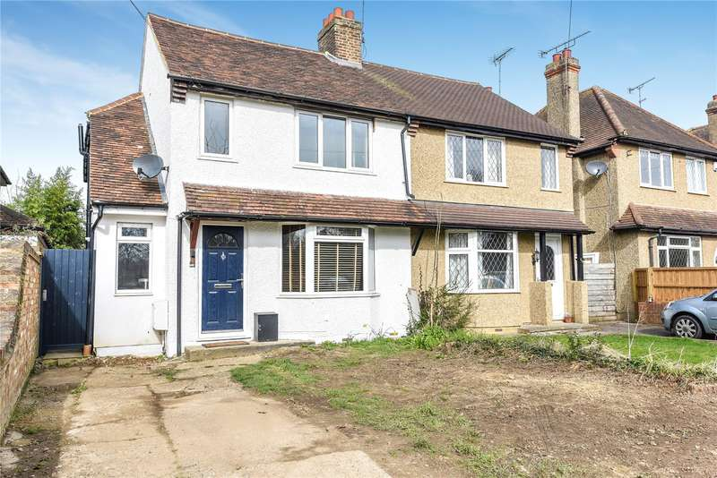 3 Bedrooms Semi Detached House for sale in Denham Way, Maple Cross, Rickmansworth, Hertfordshire, WD3
